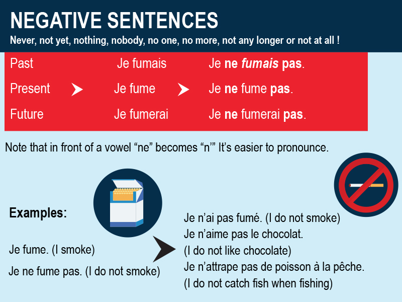 Negative Sentences in French - Why it is Important with Examples